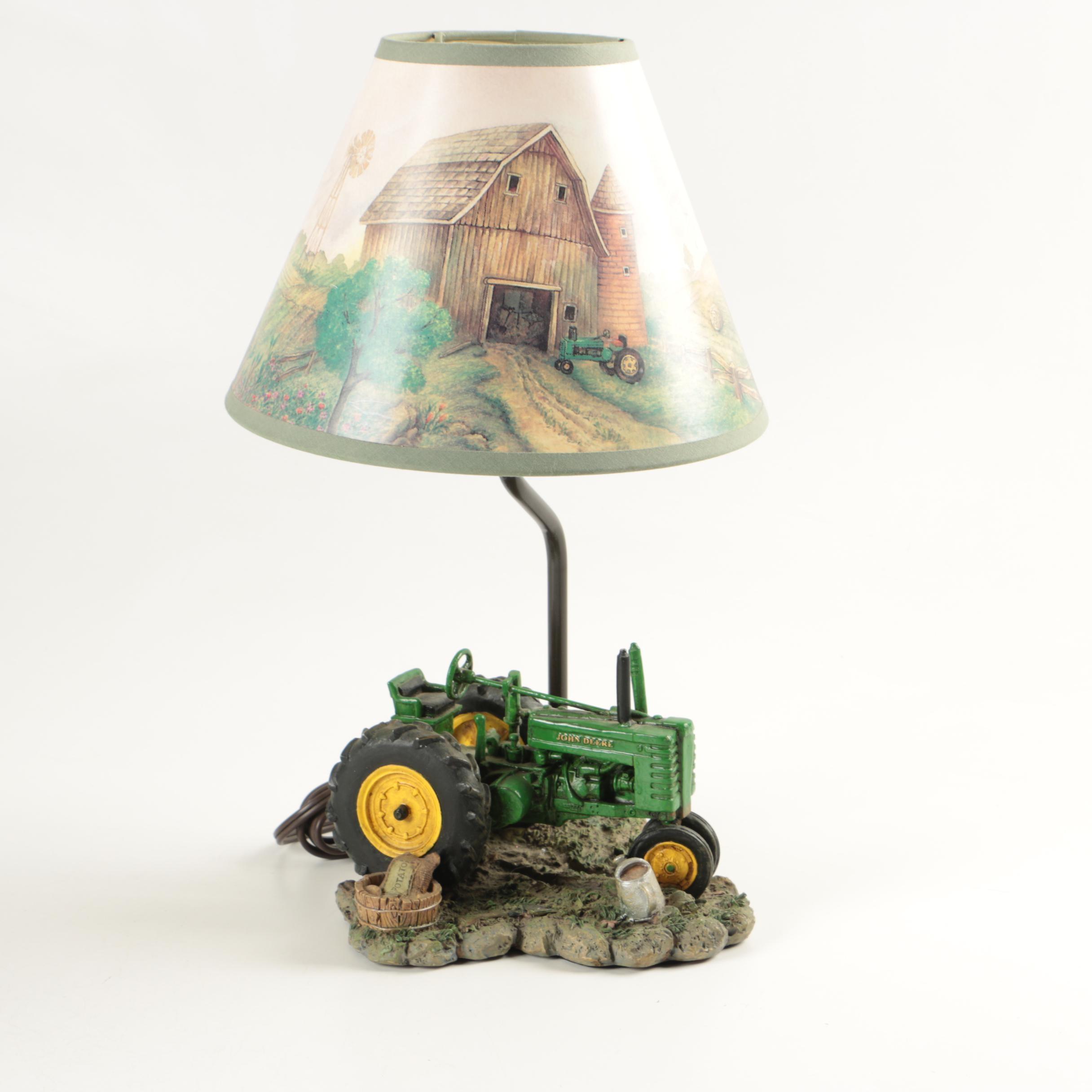 John Deere Tractor Desk Lamp ...