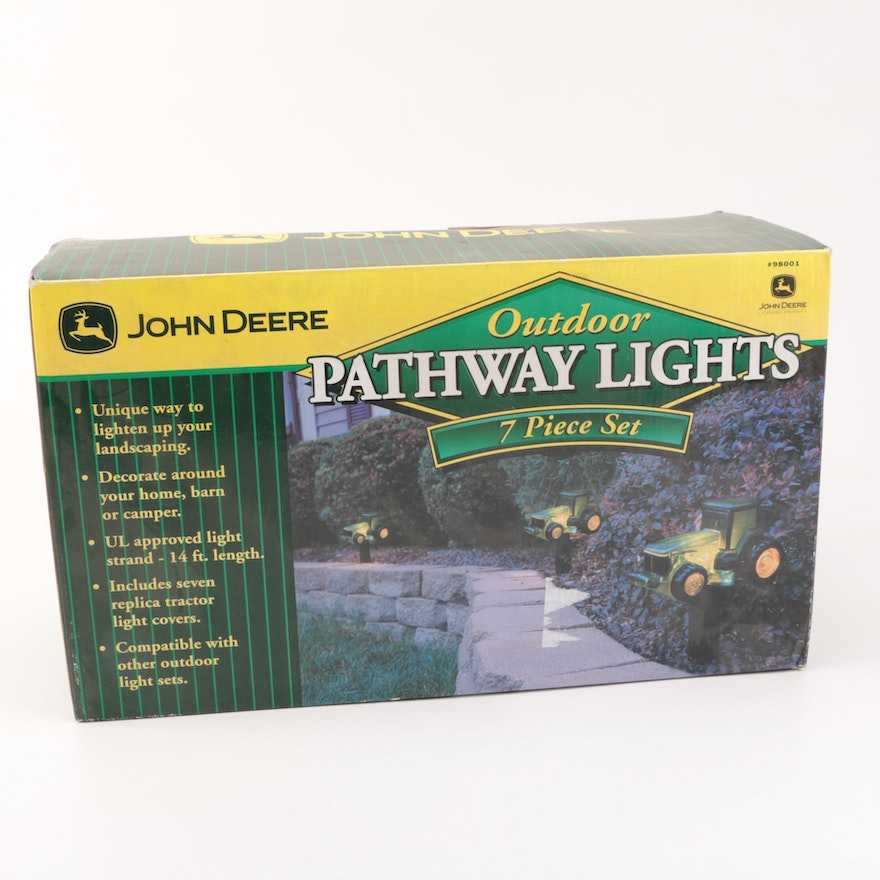 John deere outdoor pathway lights ebth john deere outdoor pathway lights aloadofball Image collections