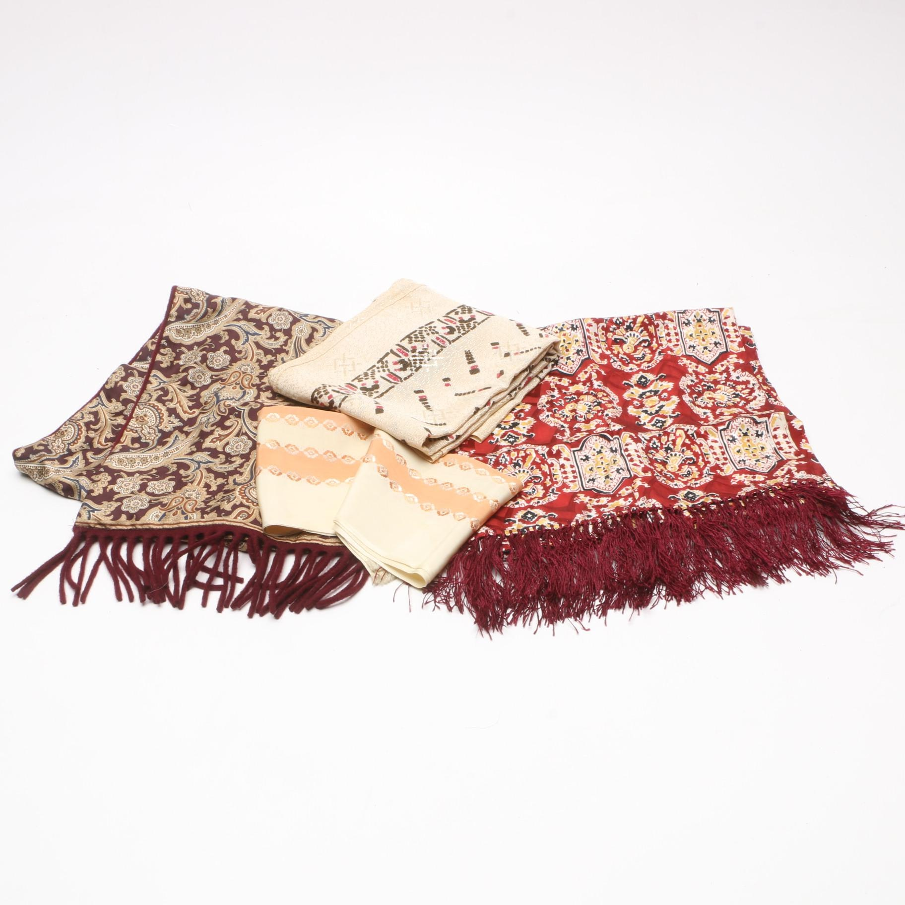 Scarves and Shawls Including Geoffrey Beene