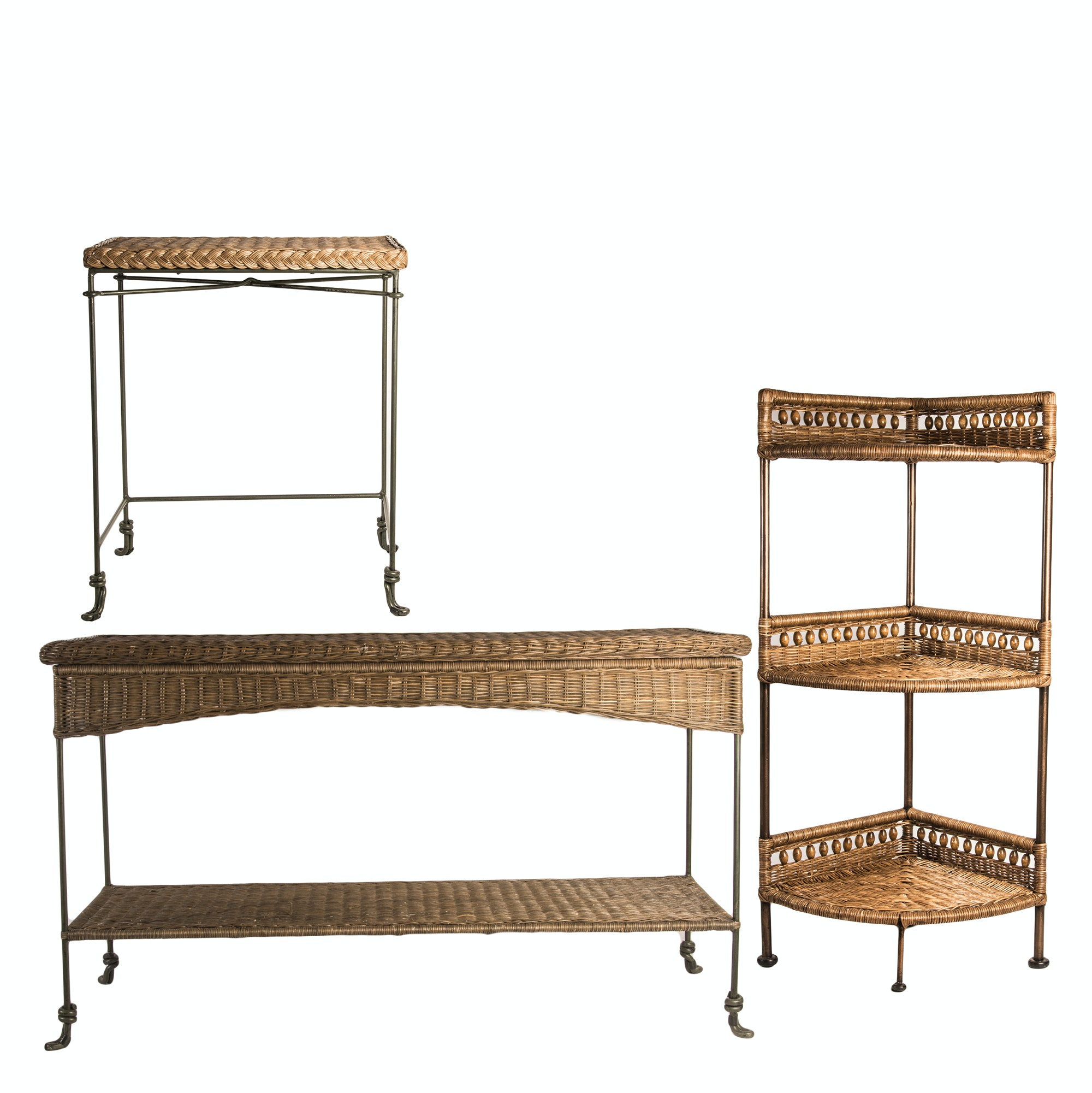 Metal and Rattan Furniture