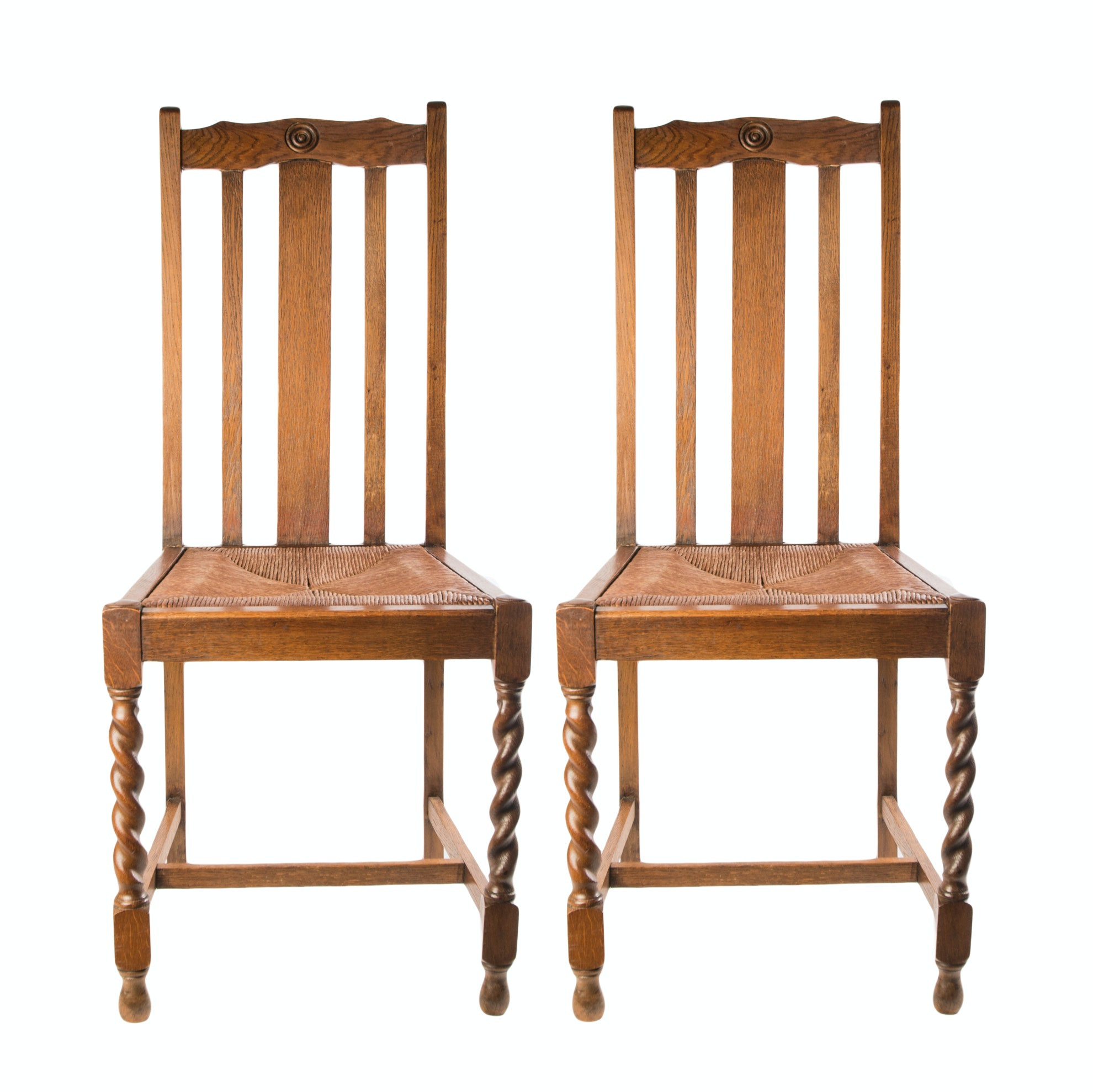 English Barley Twist Chairs