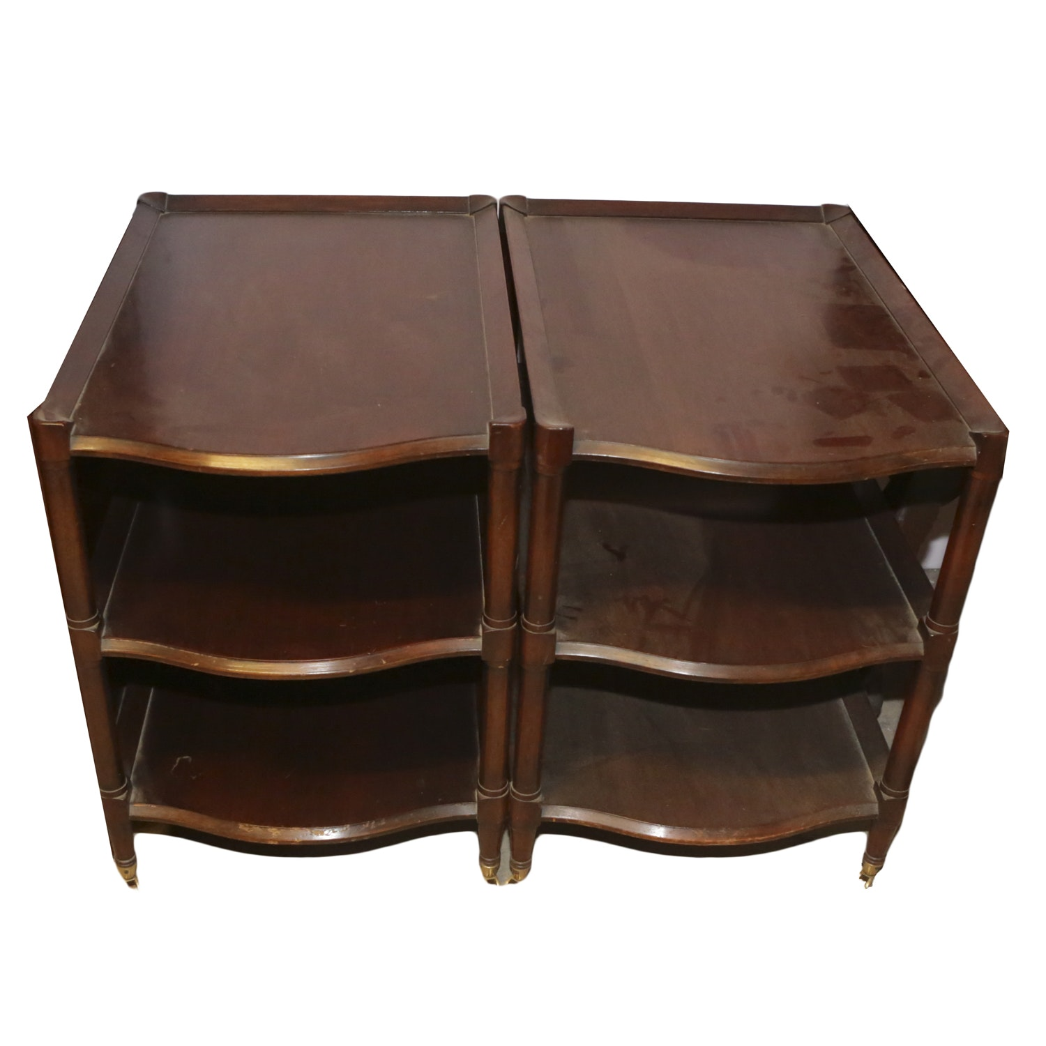 Vintage Federal Style End Tables