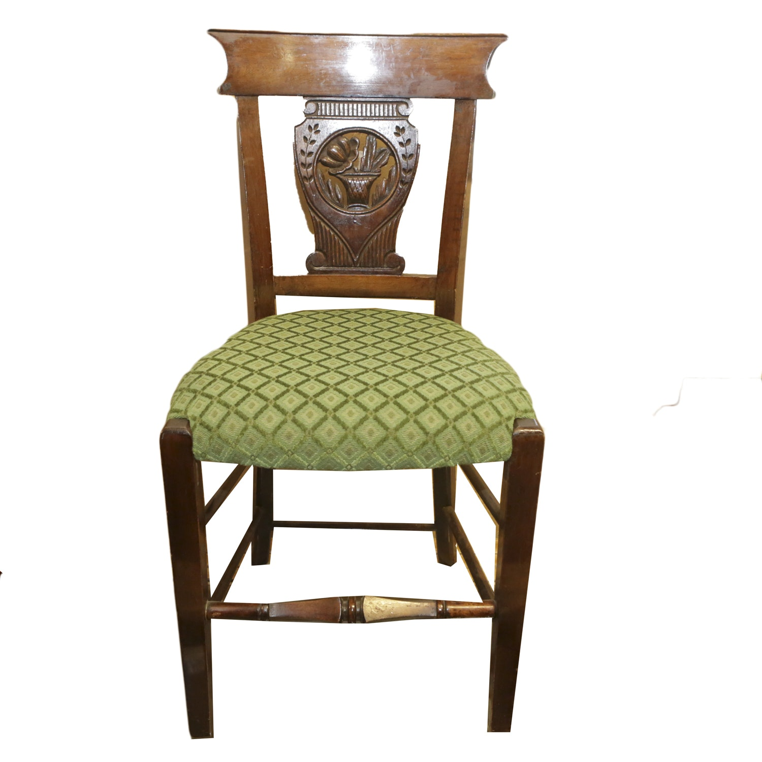 Vintage Neoclassical Style Side Chair