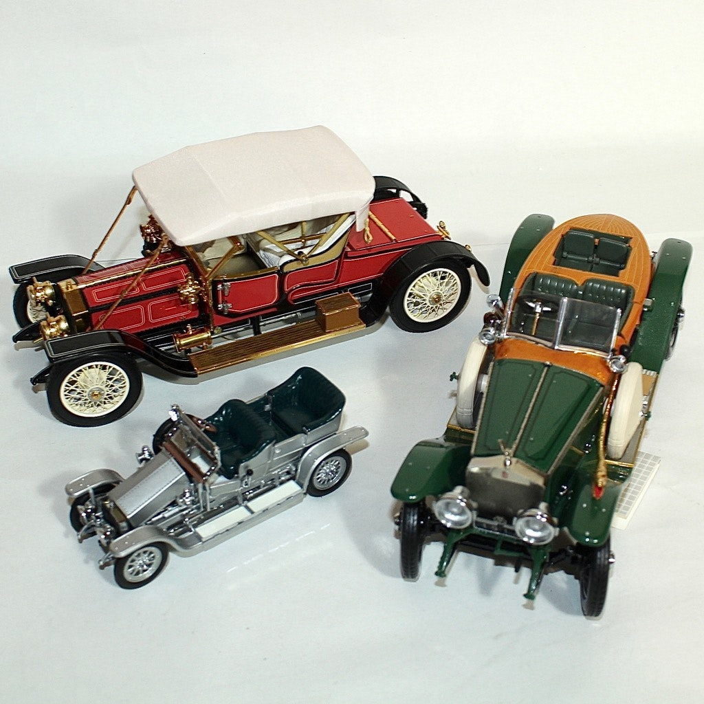 Rolls Royce Die Cast Replica Cars by The Franklin Mint