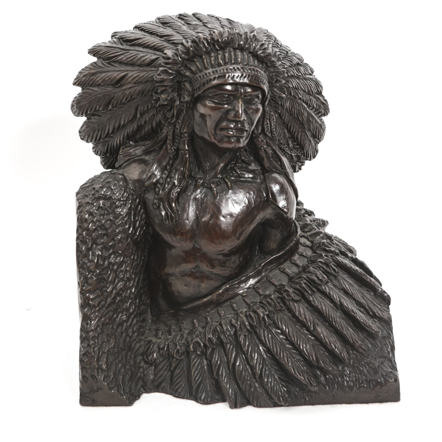 """Sid Burns Limited Edition Bronze Sculpture """"Pride of Race"""""""