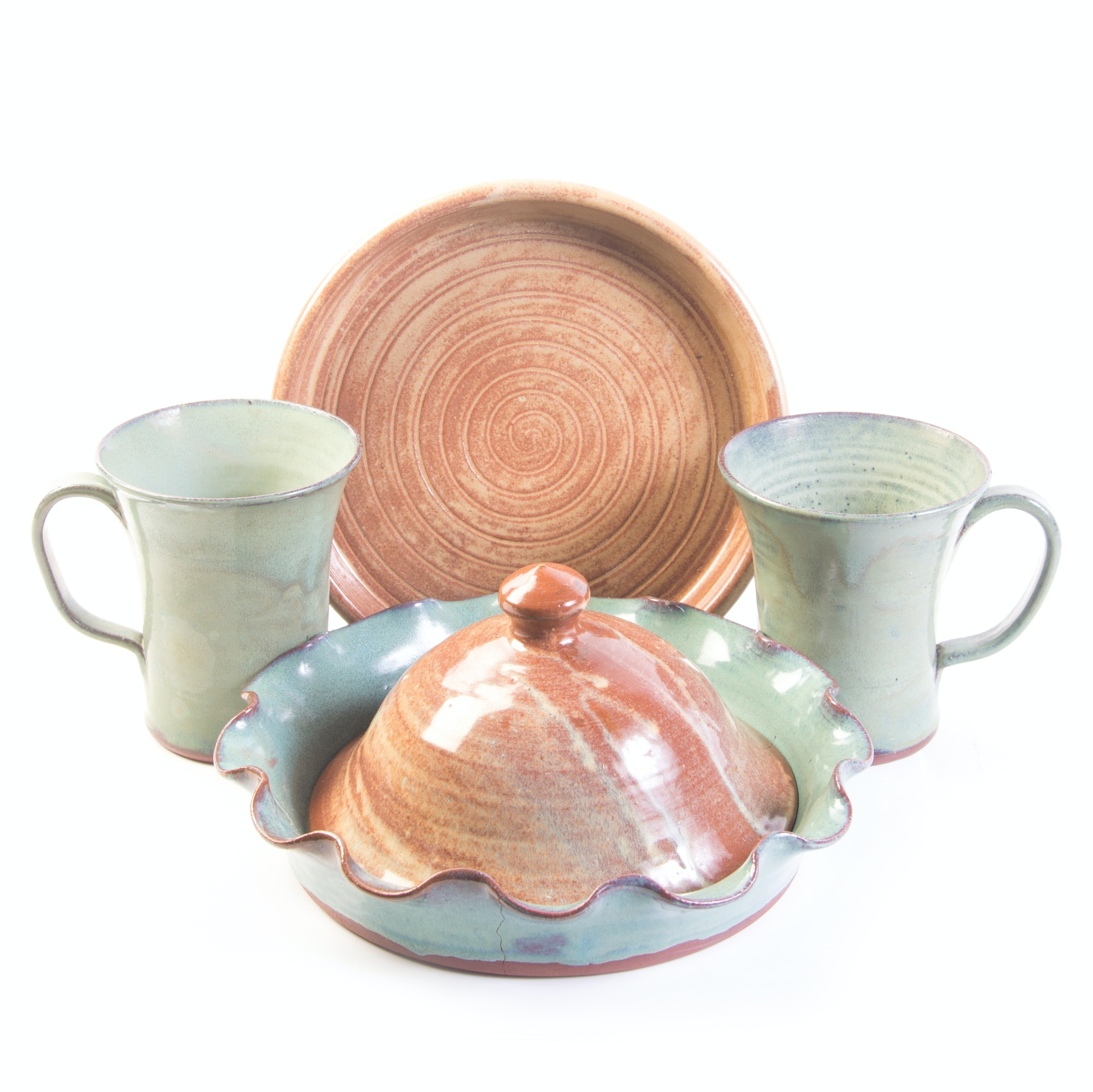 Hand Thrown Stoneware by Oakland Pottery