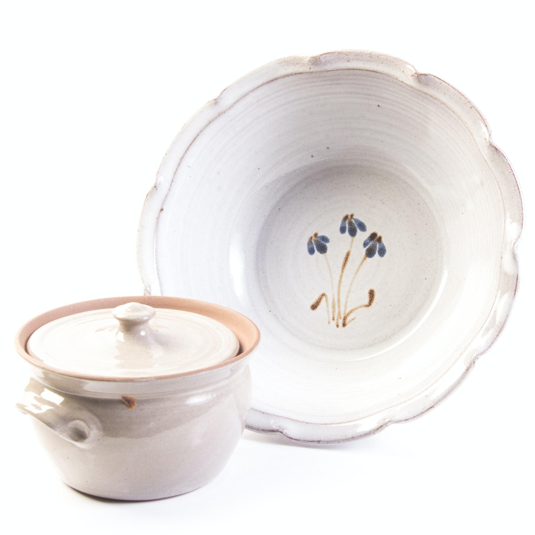 Hand Thrown Jugtownware Pottery Tableware