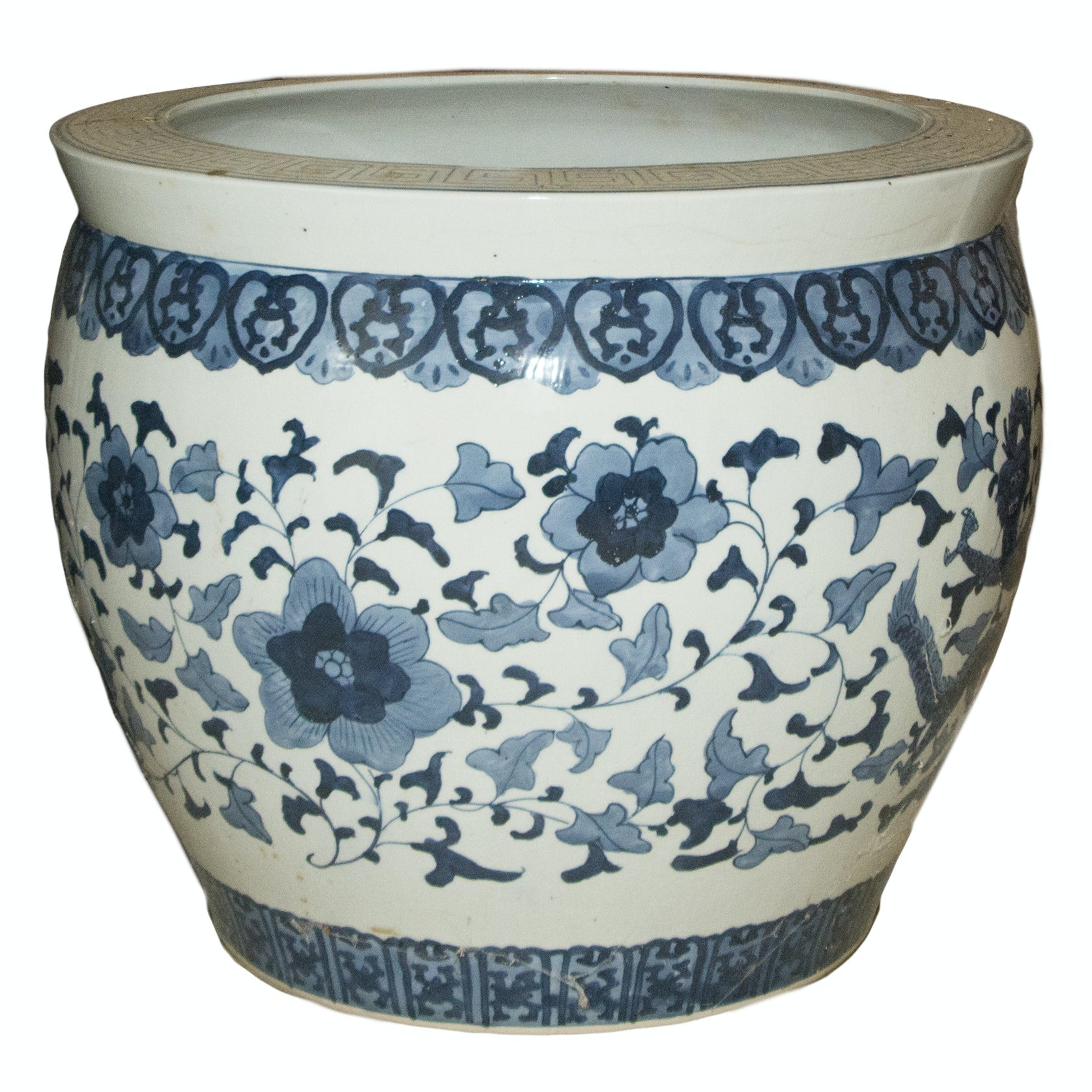 Large Ceramic Asian Pot