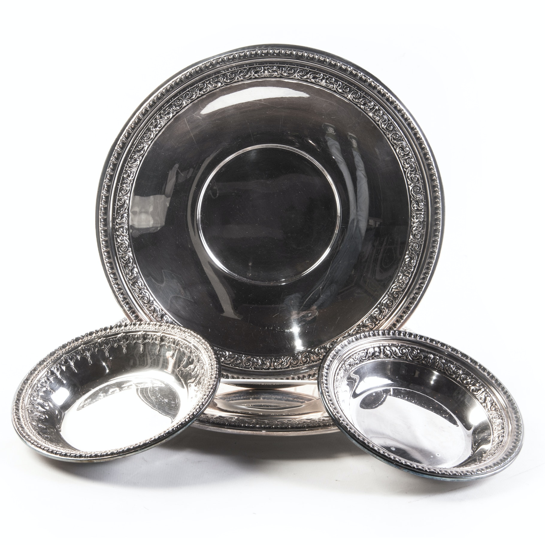 Reed & Barton Plated Silver Plates and Bowls