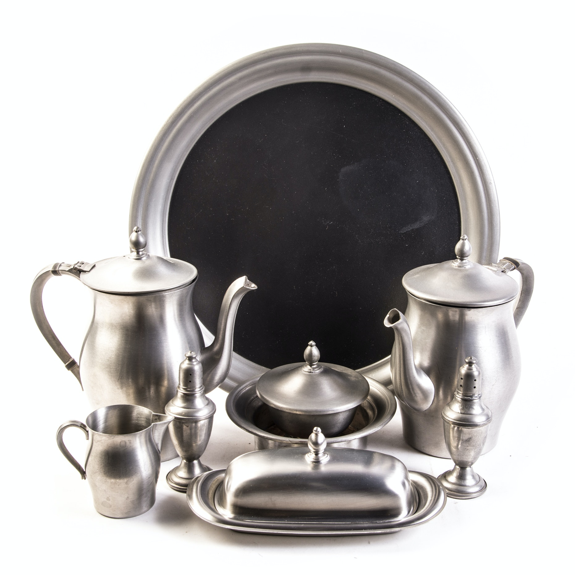 International Pewter Tea and Coffee Service