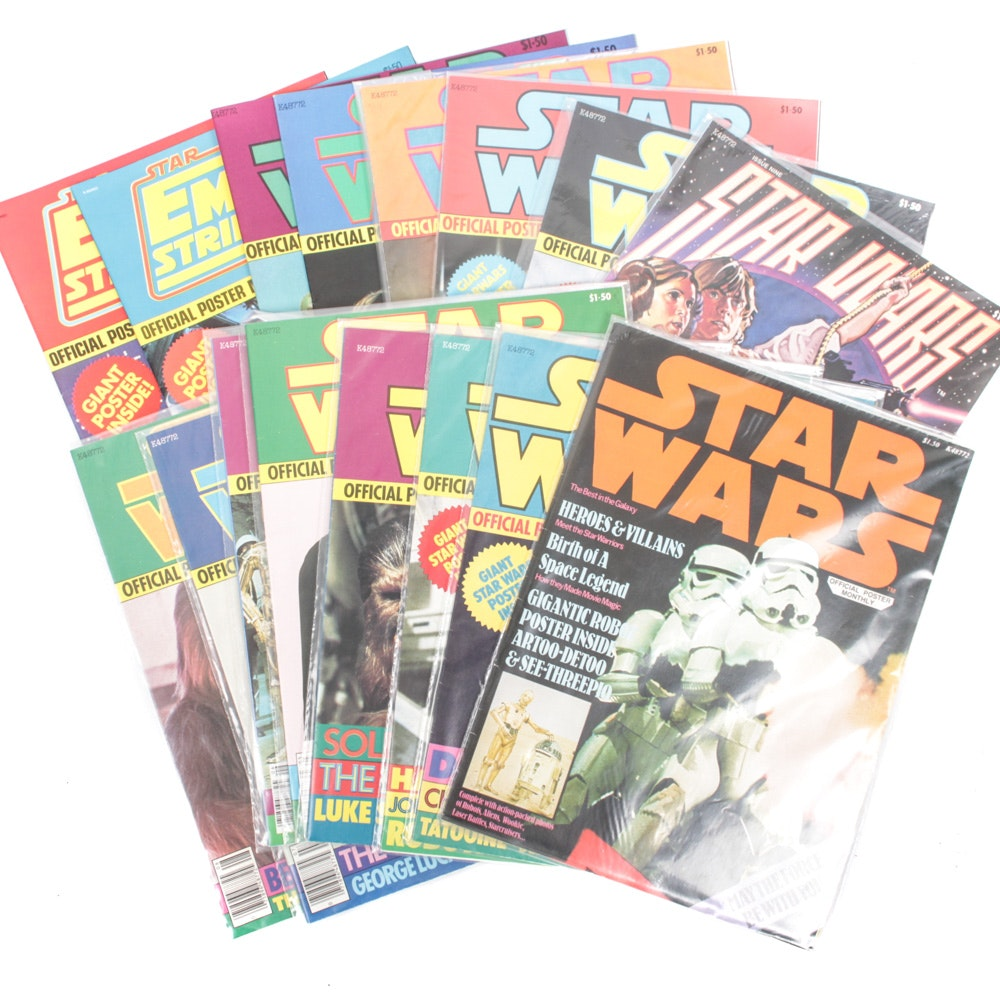 """Star Wars"" Official Poster Monthly Magazine Collection"