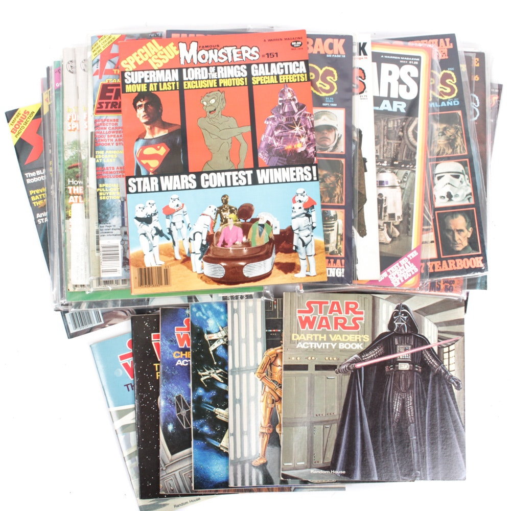 """Star Wars"" Magazine and Activity Book Collection"