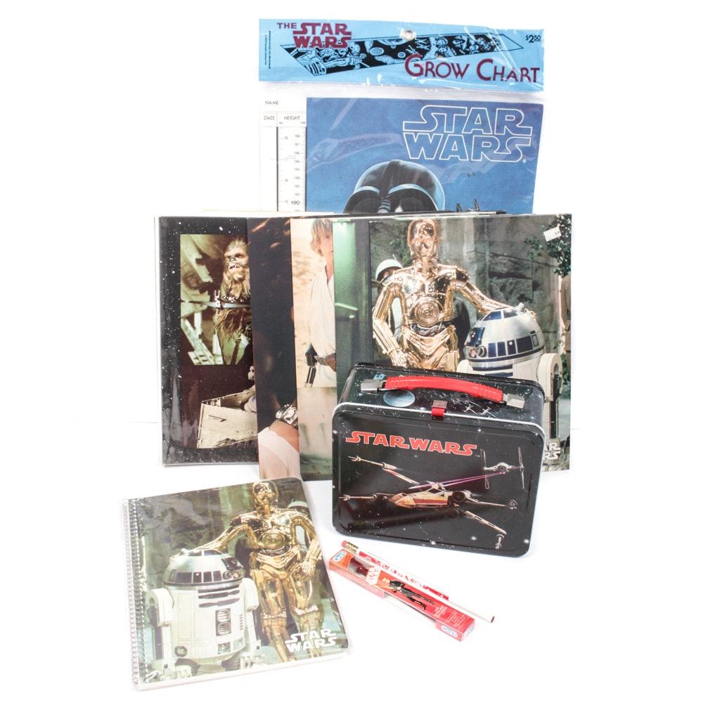 """Vintage """"Star Wars"""" School Supplies"""
