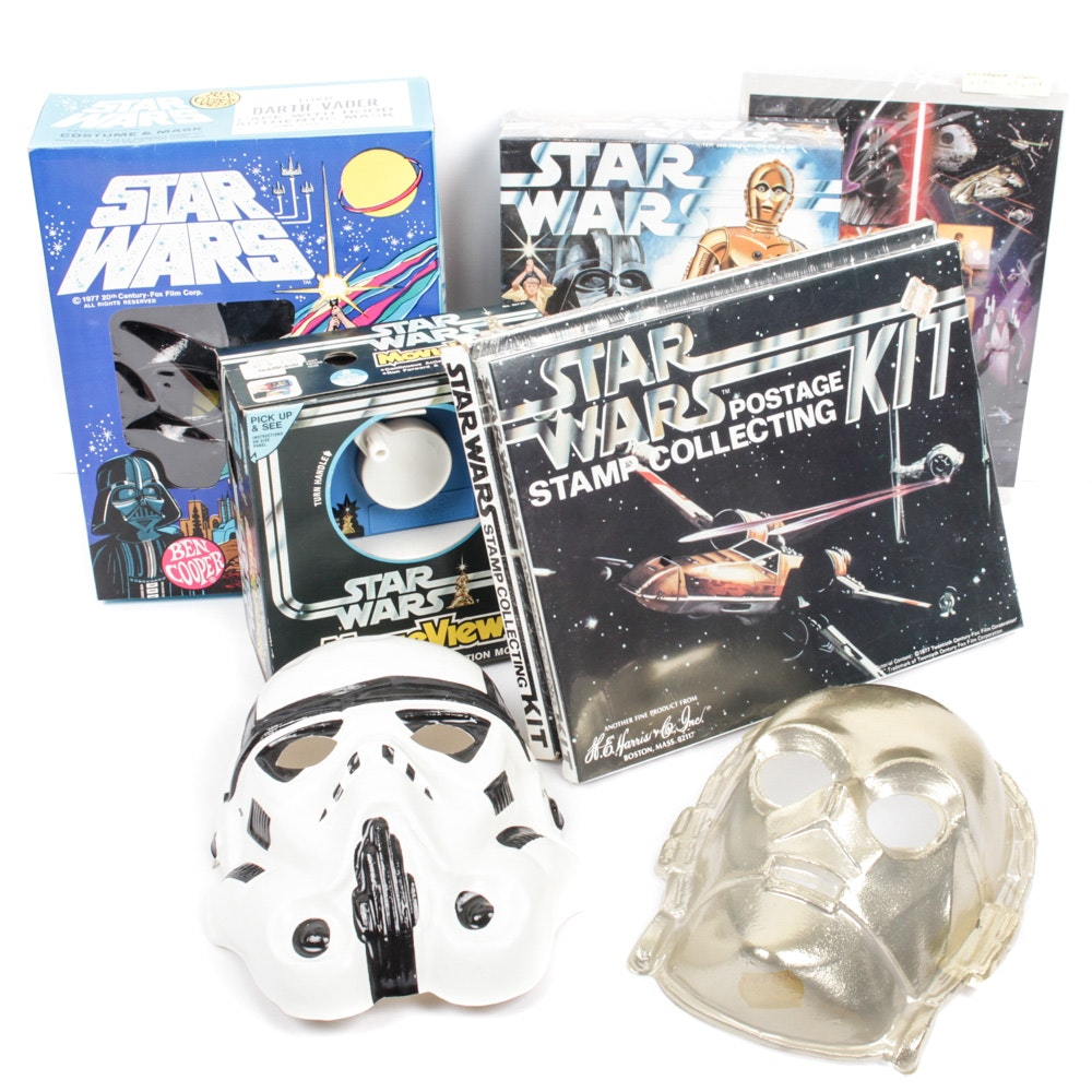 "Vintage ""Star Wars"" Toys and Collectibles"