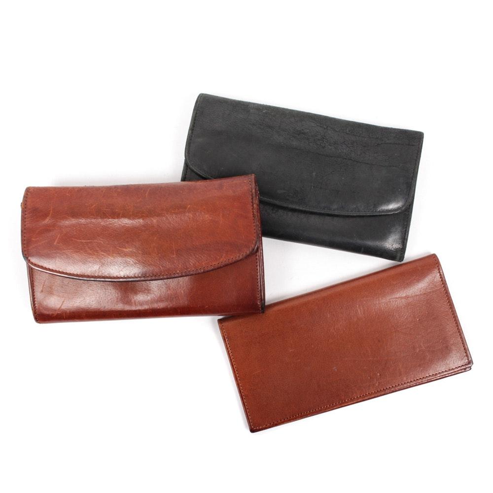 Vintage Coach Leather Wallets