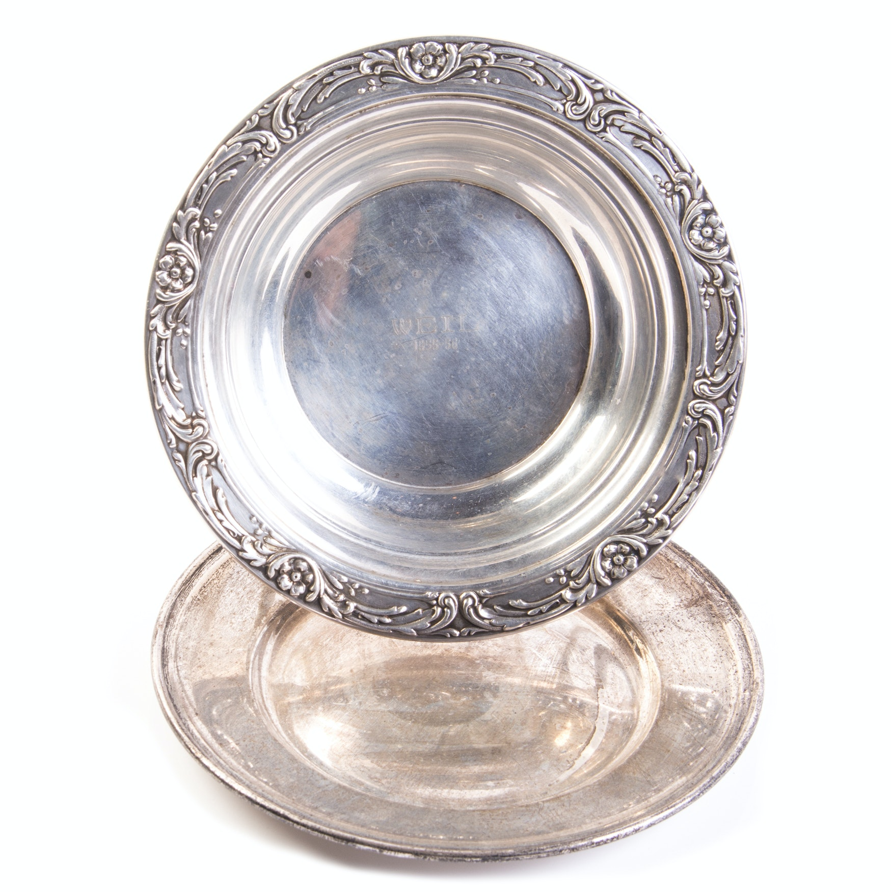 Gorham and Reed & Barton Sterling Silver Dishes
