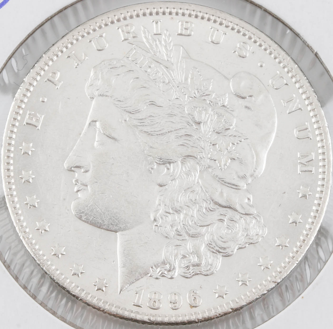 1896-O Silver Morgan Dollar