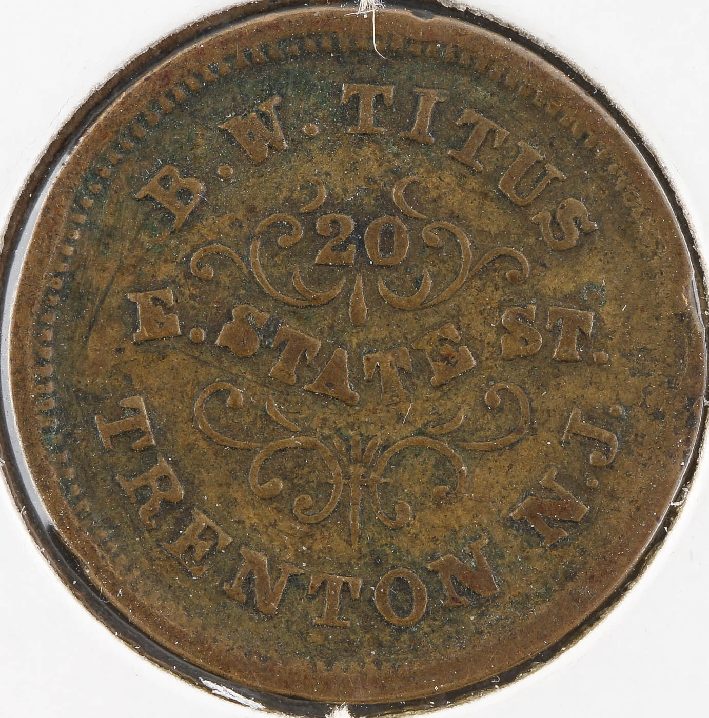 Civil War Era DRY GOODS Token