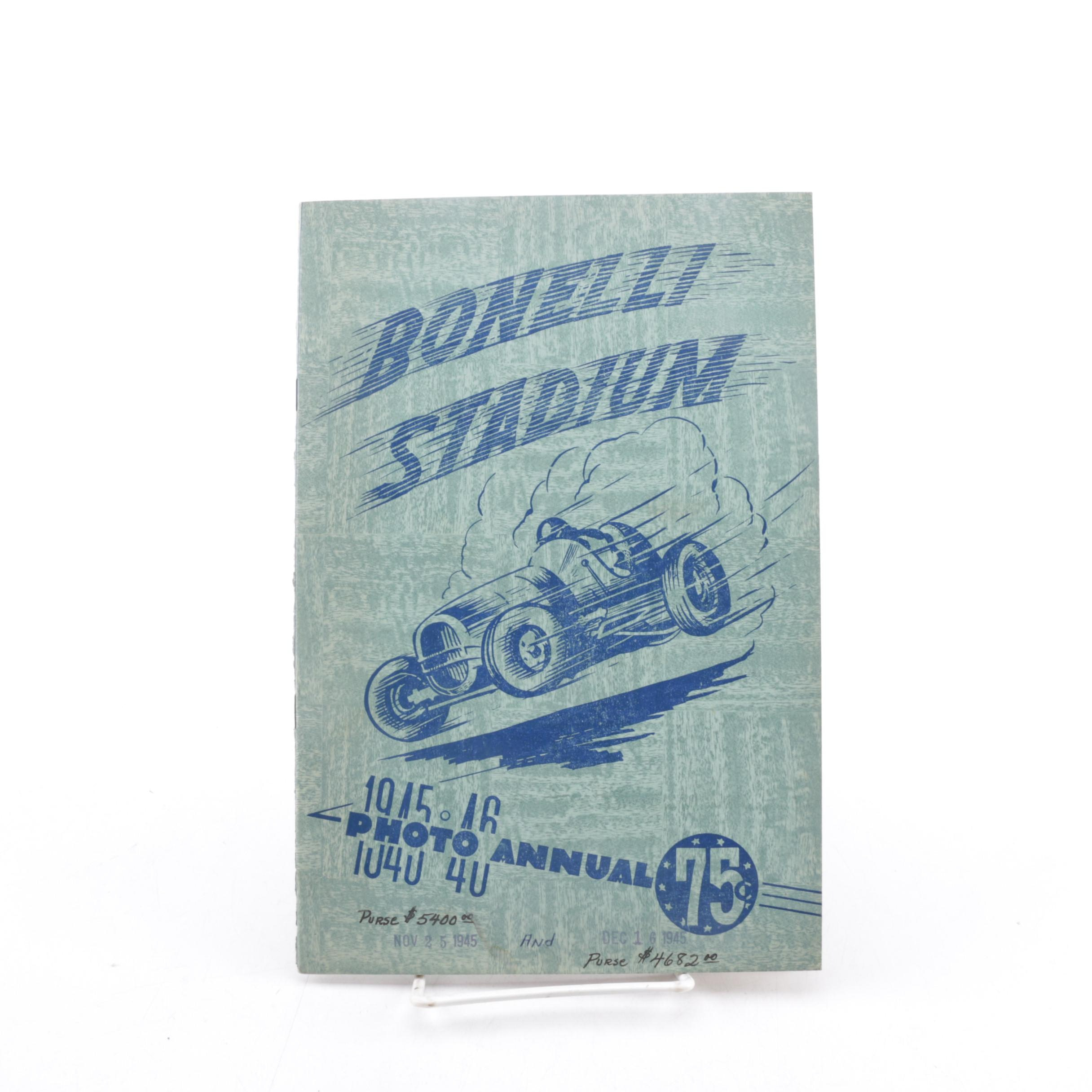 "1945 ""Bonelli Stadium 1945 - 1946 Photo Annual"" Magazine"