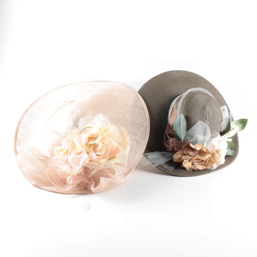 cd5c50a1846 Madam Foo Foo Couture Fascinator and August Derby Hat   EBTH