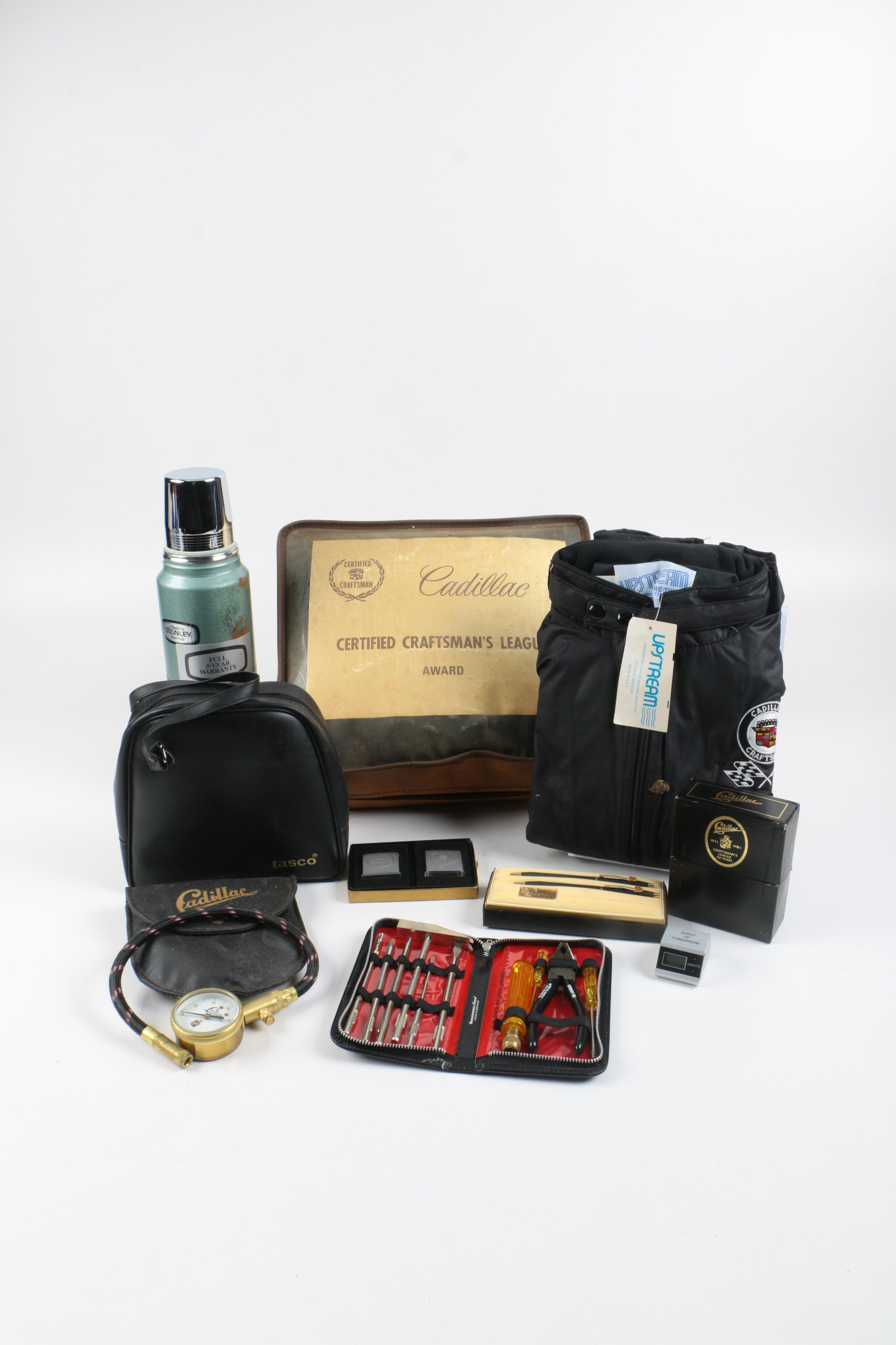 Cadillac Branded Items And More