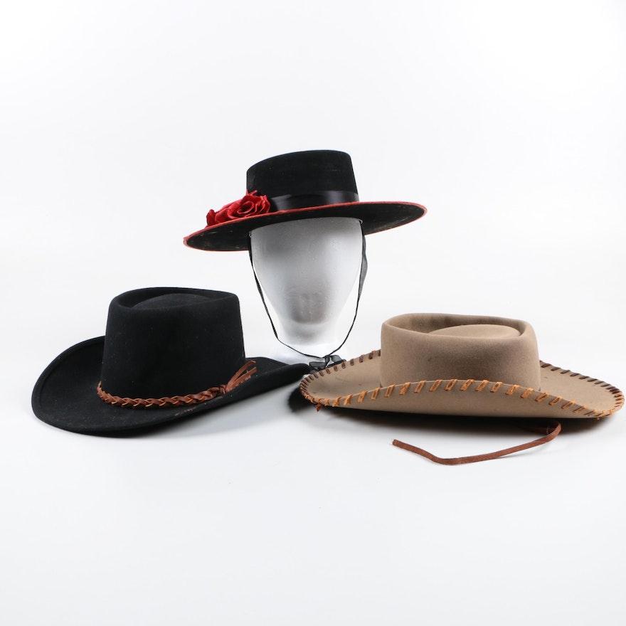 Cowboy Hats and a Sombrero Cordobes ea08cb8a3a9