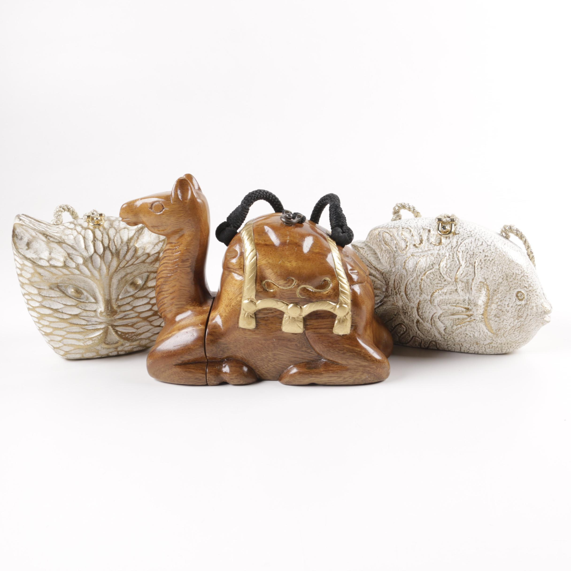 Timmy Woods Figural Animal Handbags