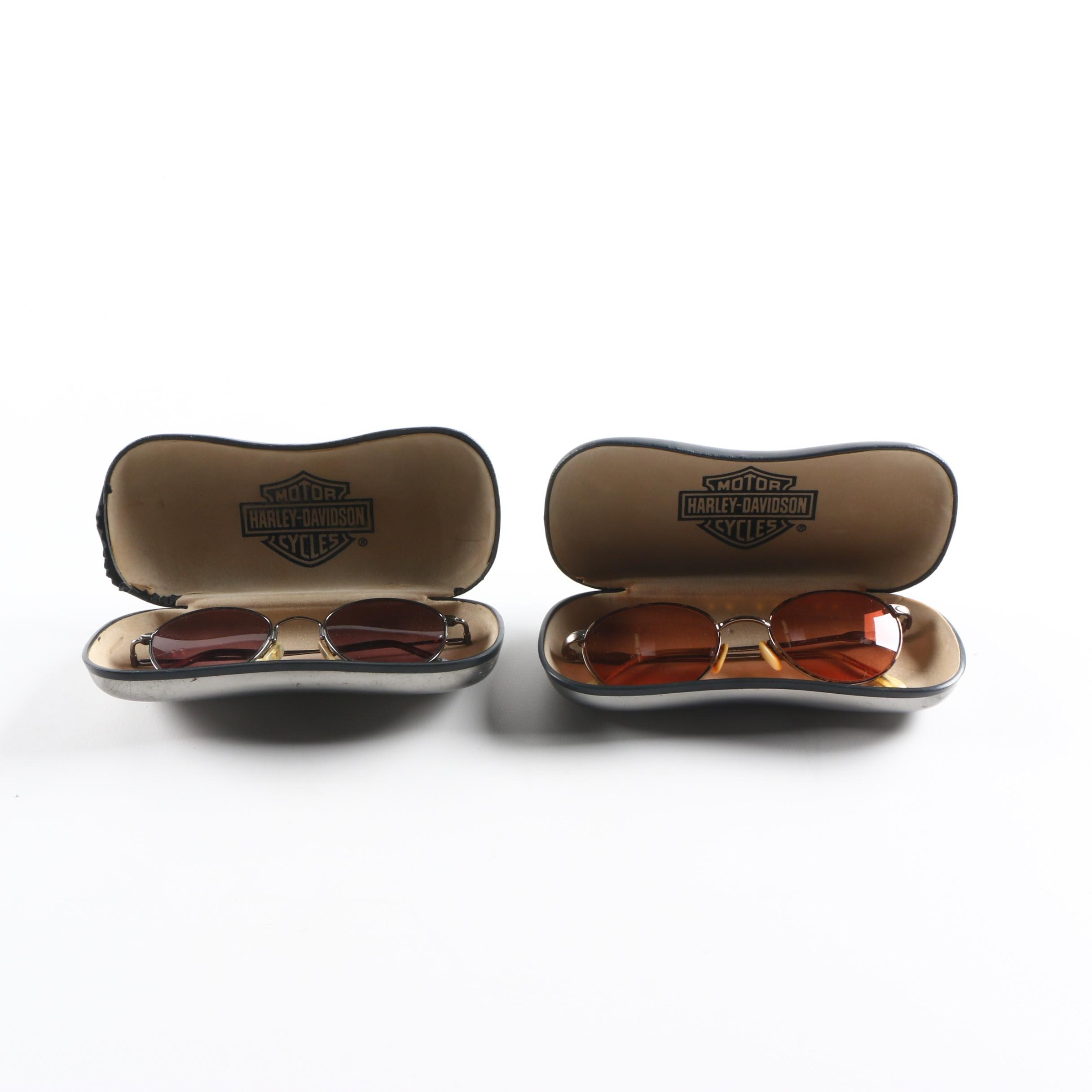 Harley-Davidson Sunglasses and Cases