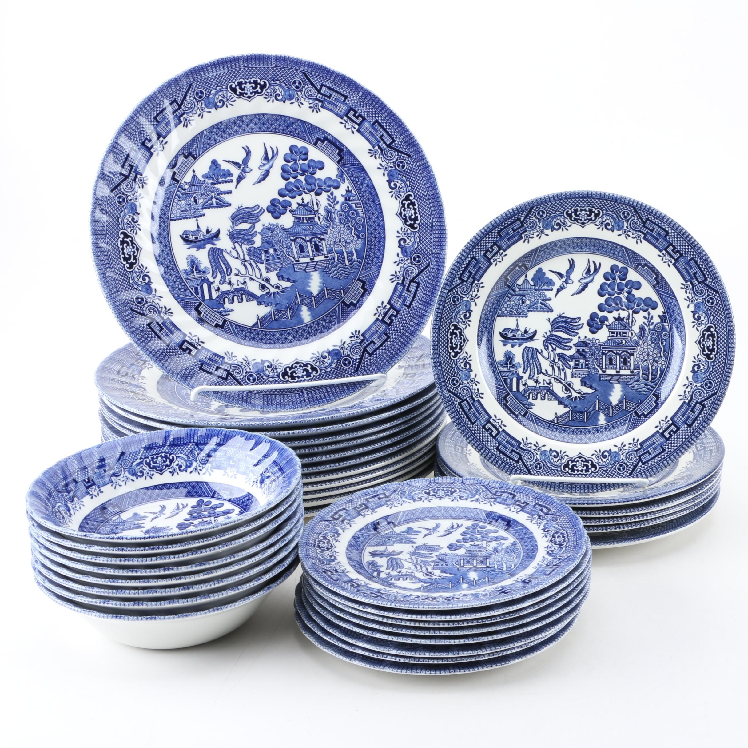"Churchill ""Blue Willow"" Tableware"