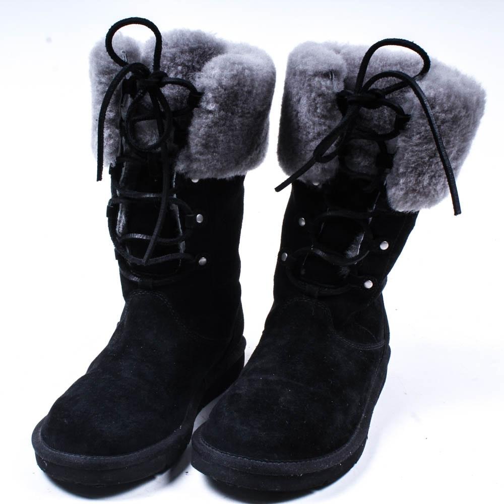 Ugg Mid Calf Shearling Boots