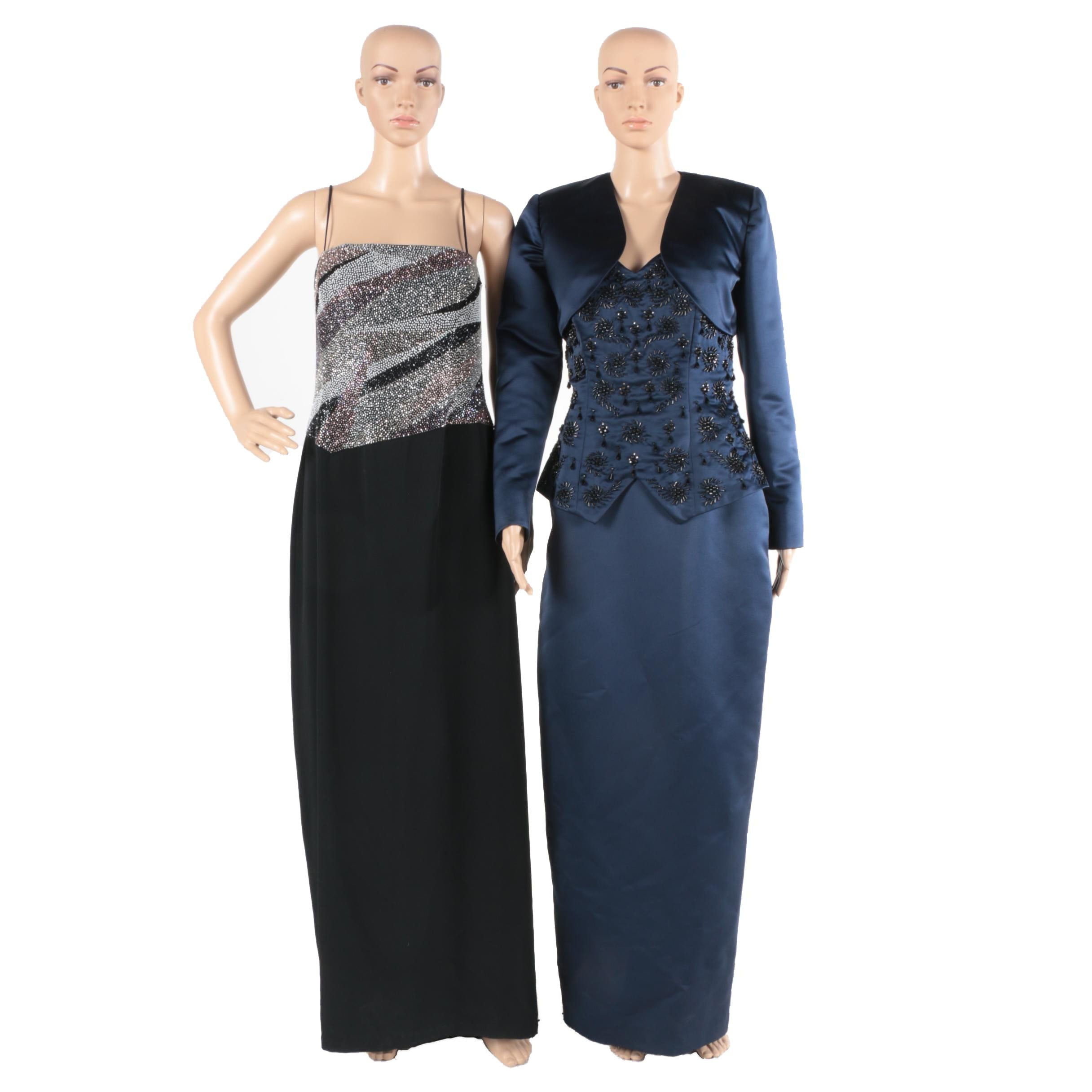 Evening Gowns Featuring Daymor Couture and Octavia