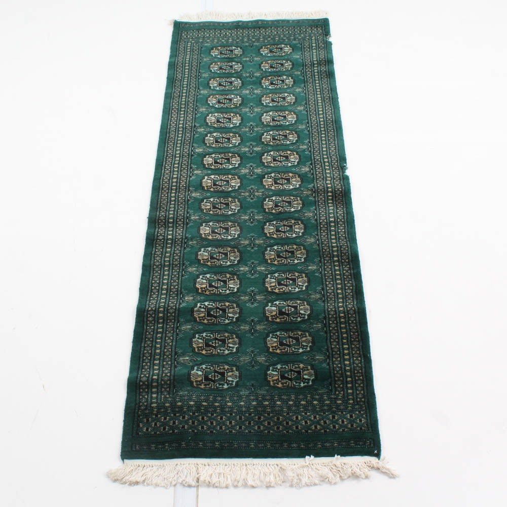 Hand Knotted Pakistani Bokhara Carpet Runner
