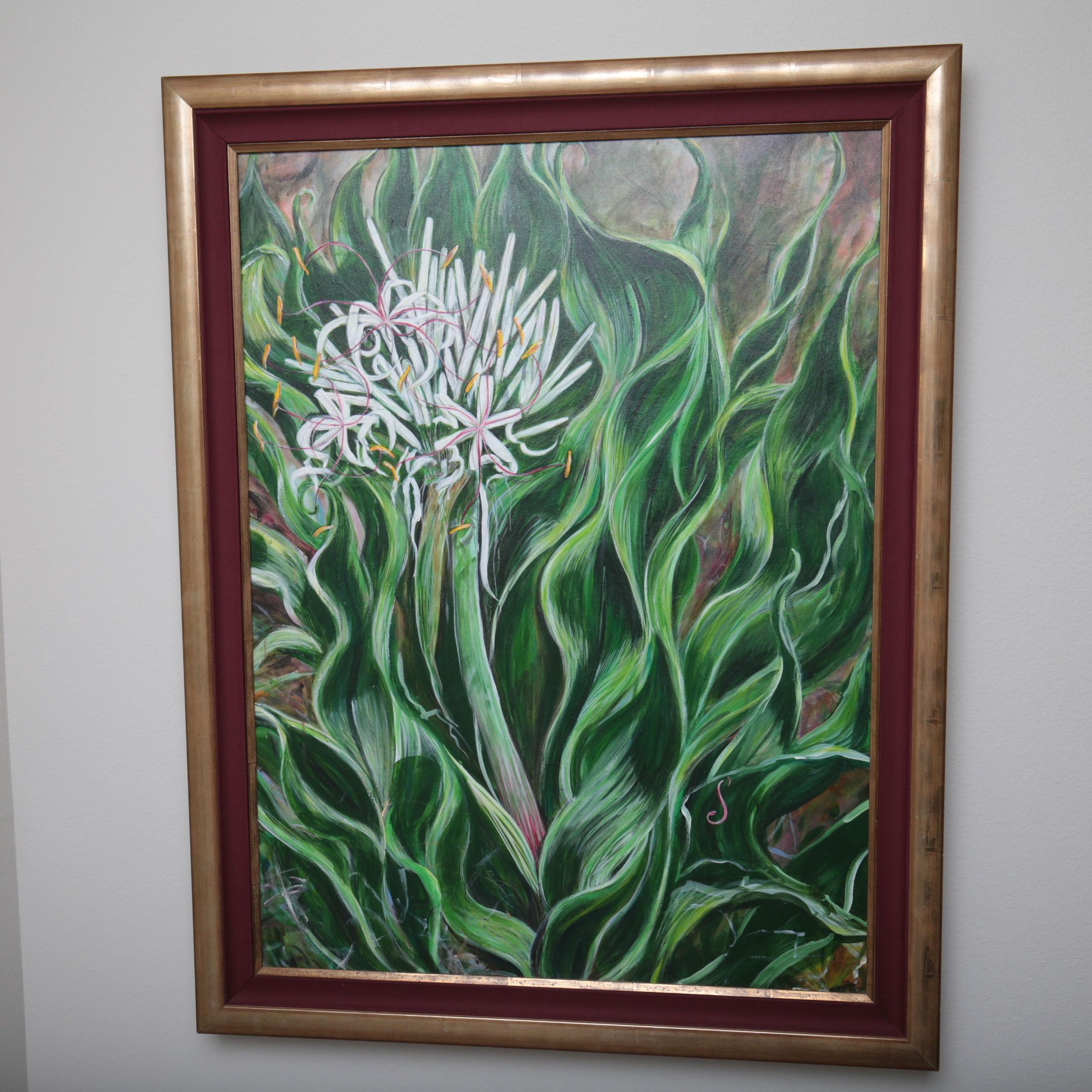 Original Floral Oil Painting