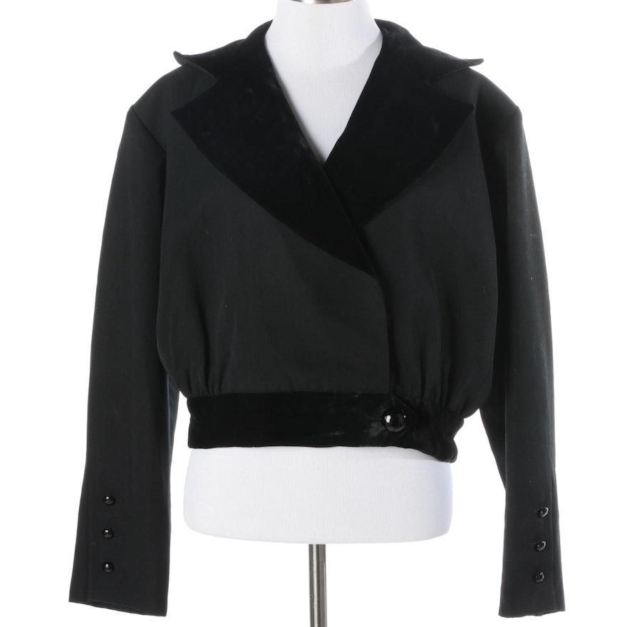 cf5a54b7050 1980s Vintage Yves Saint Laurent Rive Gauche Jacket : EBTH