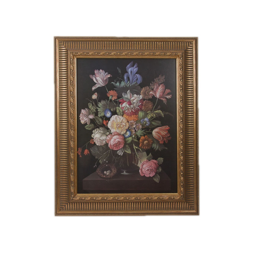 Reproduction Print of a Floral Still Life