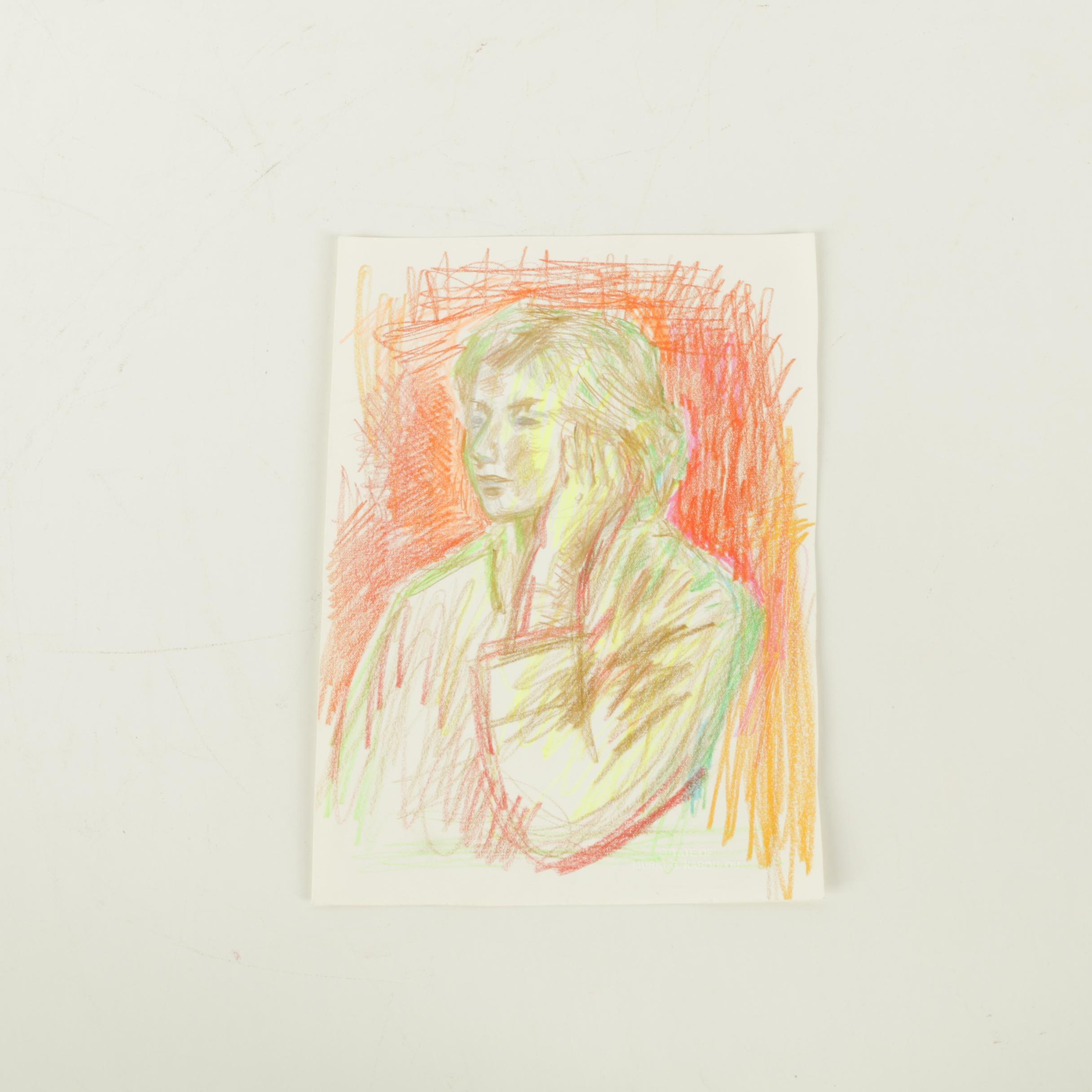 Murat Kaboulov Pastel on Paper