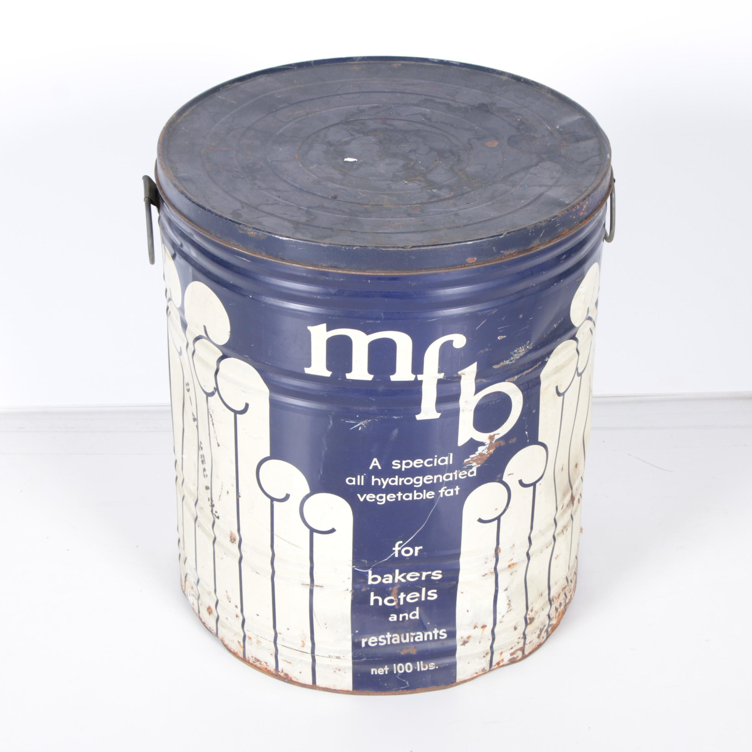 Vintage MFB Tin
