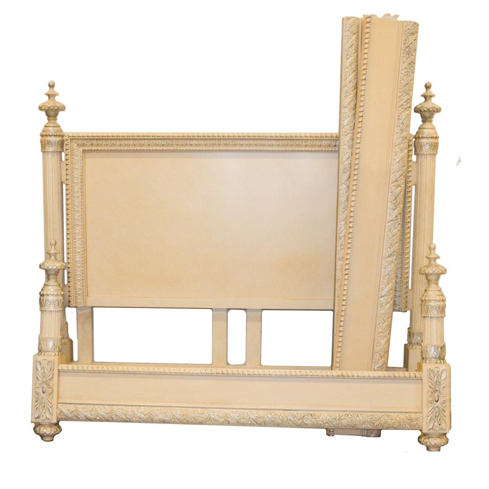 Cream Finished King Bed Frame