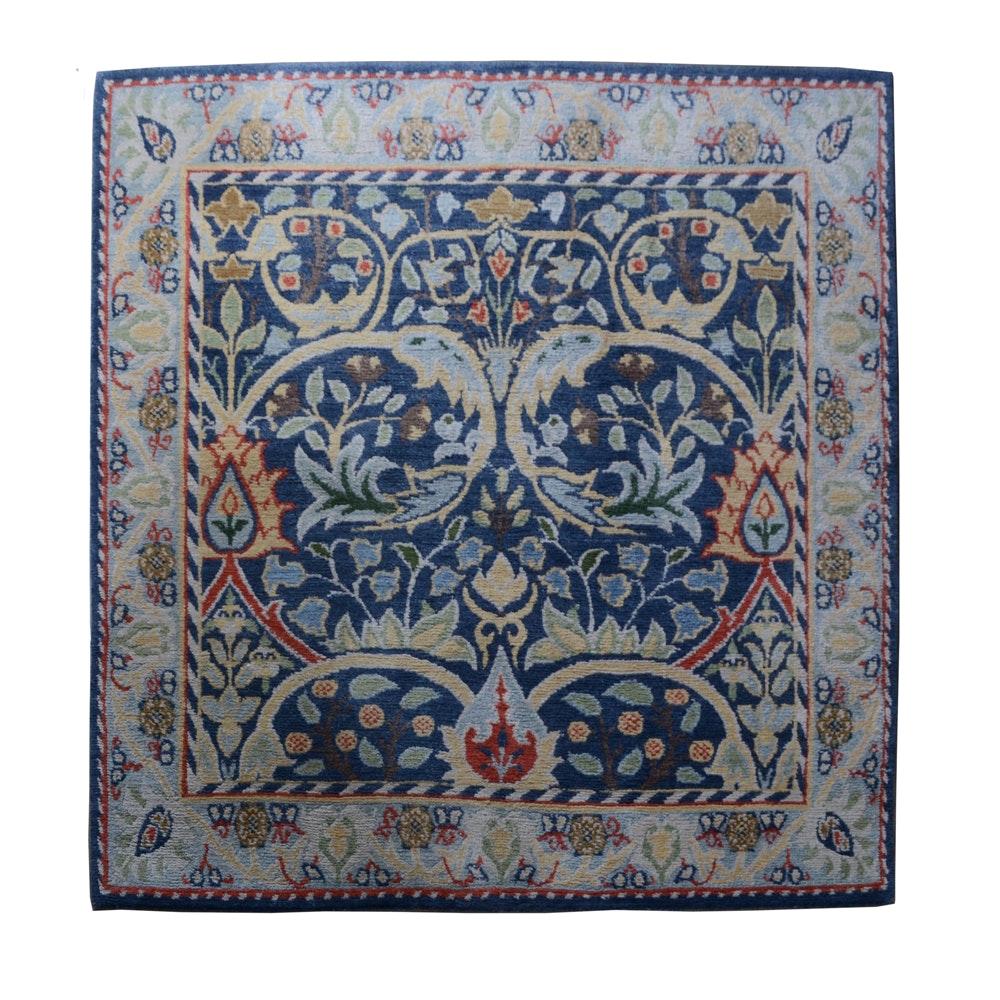 "Handwoven Nepali ""Routon Grange"" Wool Area Rug"