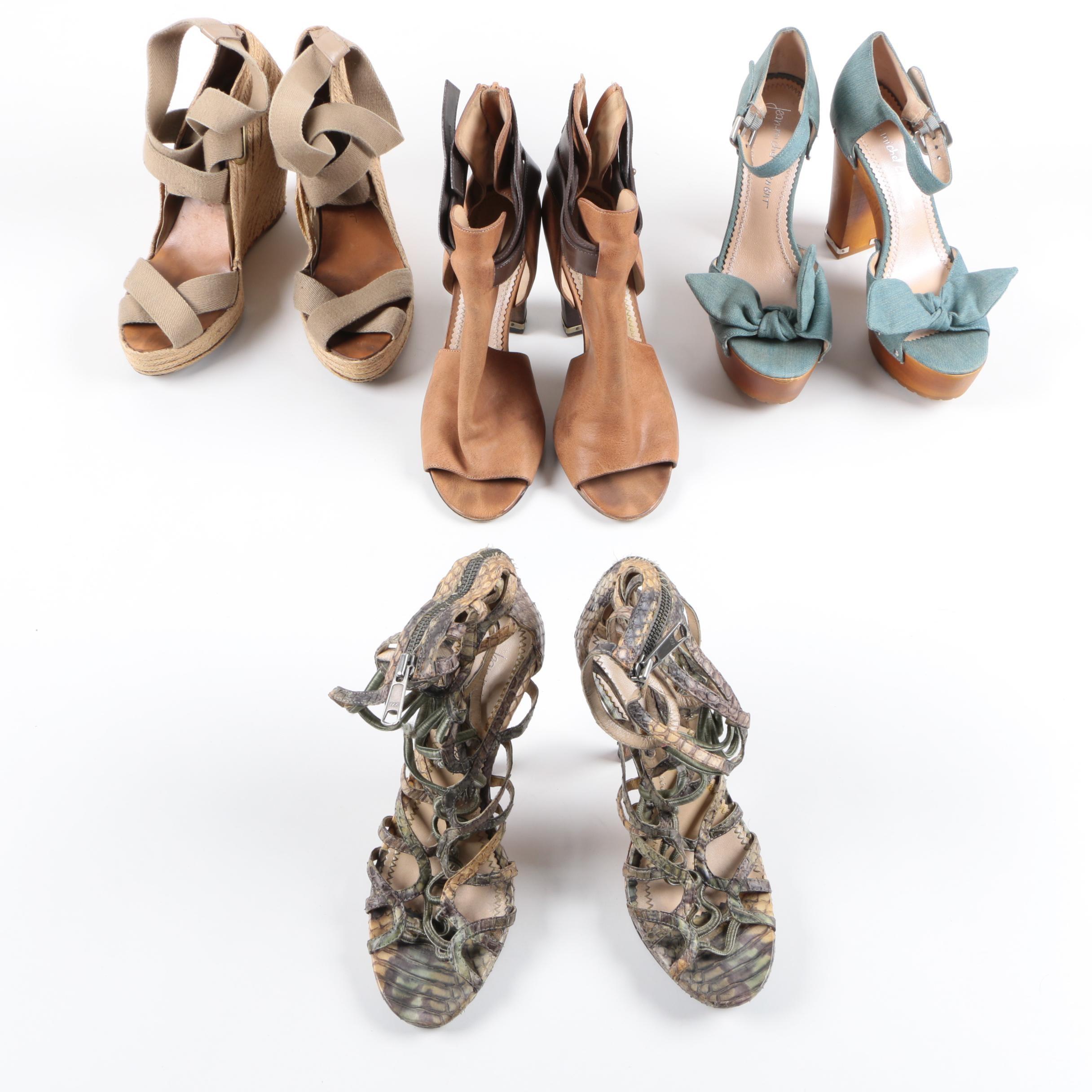 Jean-Michel Cazabat High Heeled Shoes