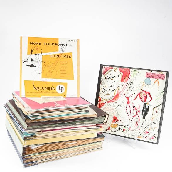 "Burl Ives, Duke Ellington, ""Peer Gynt"" and Other Vintage Records"