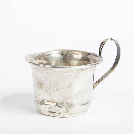 Vintage Small Sterling Silver Cup