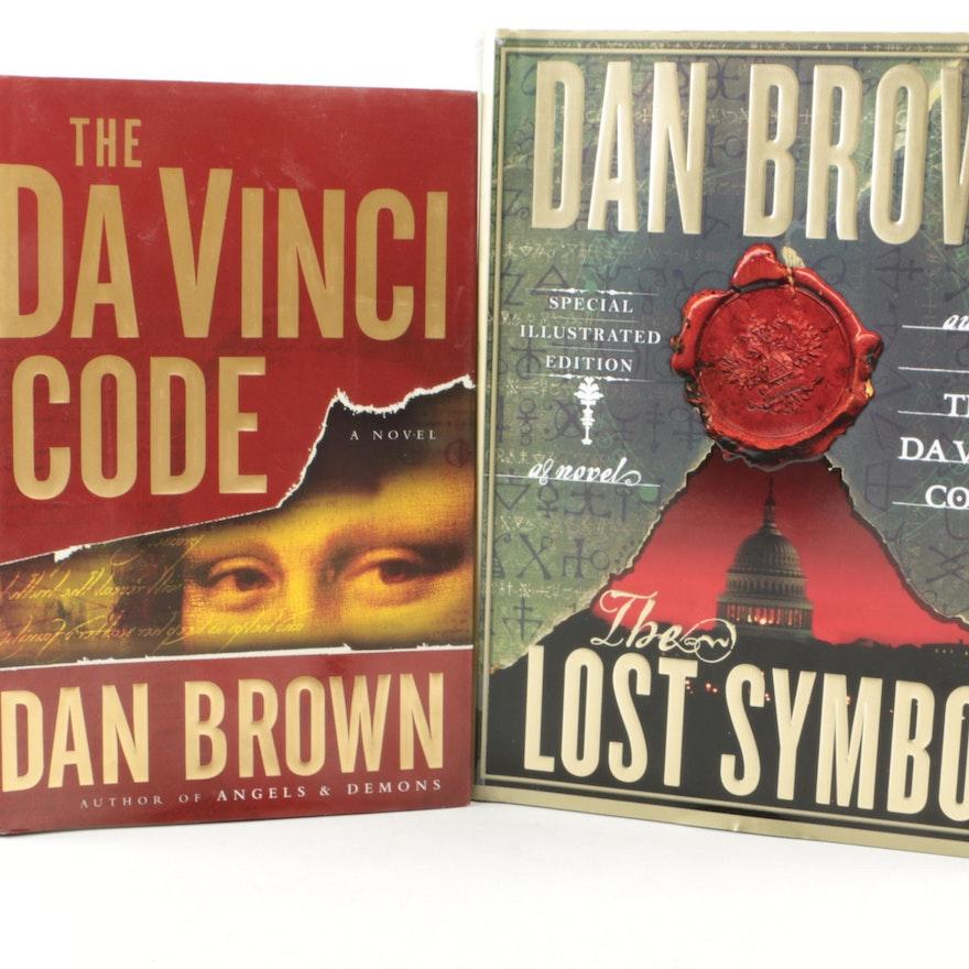 The Da Vinci Code And Lost Symbol By Dan Brown Ebth
