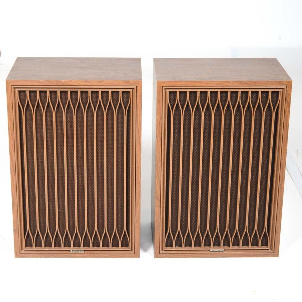 Pair of Vintage Kenwood KL-777D Stereo Speakers