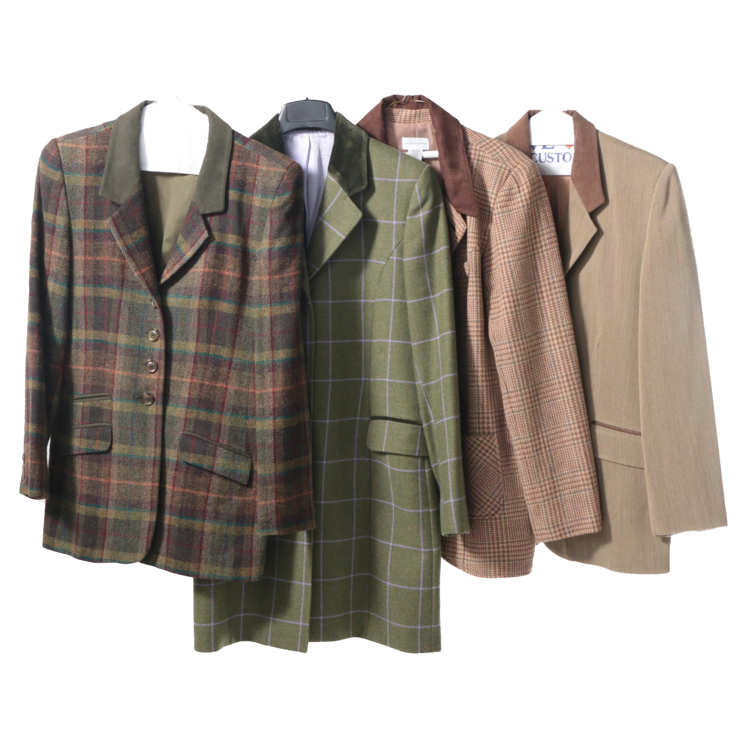 Women's Tweed Jackets Including Country Classics