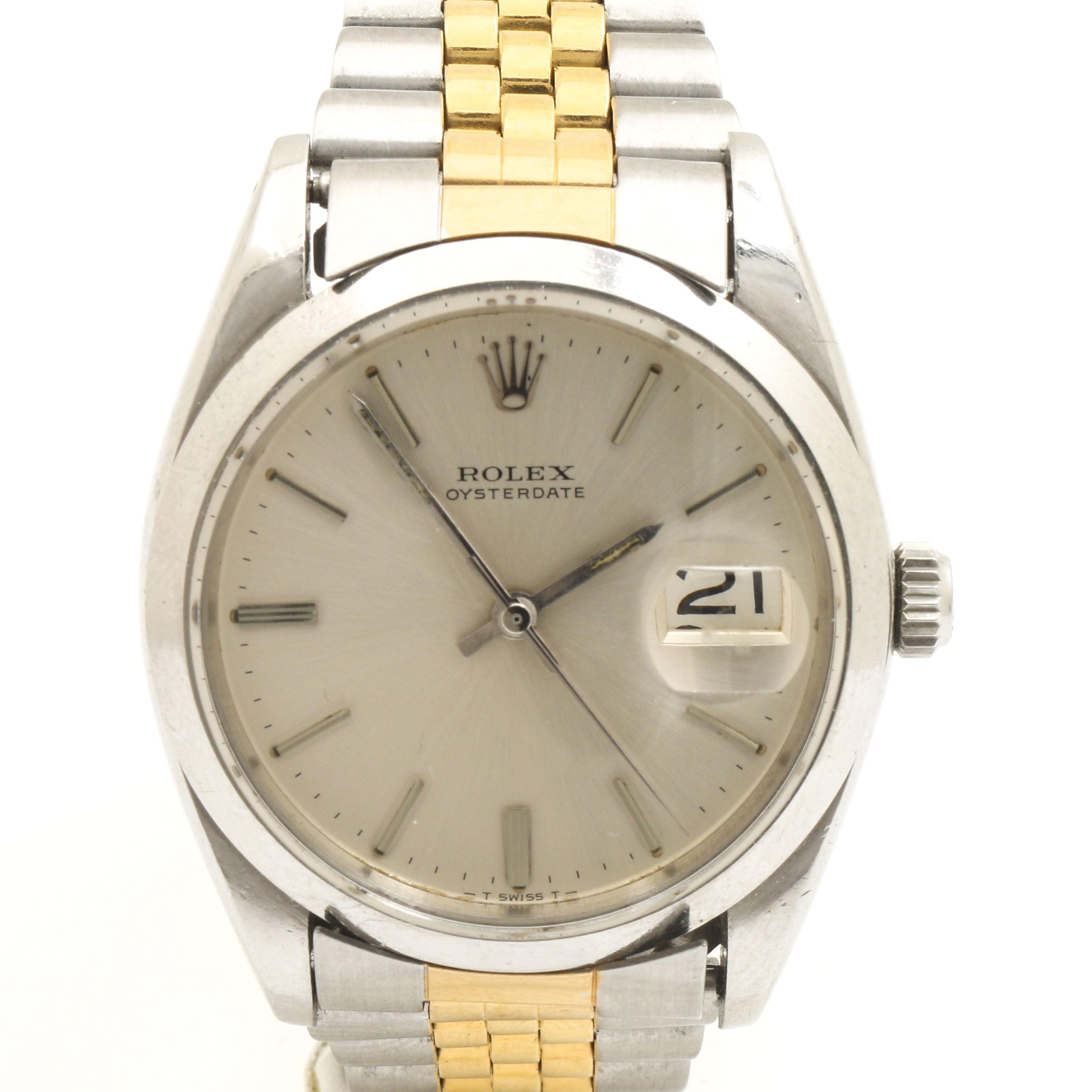 Rolex Stainless Steel Wristwatch