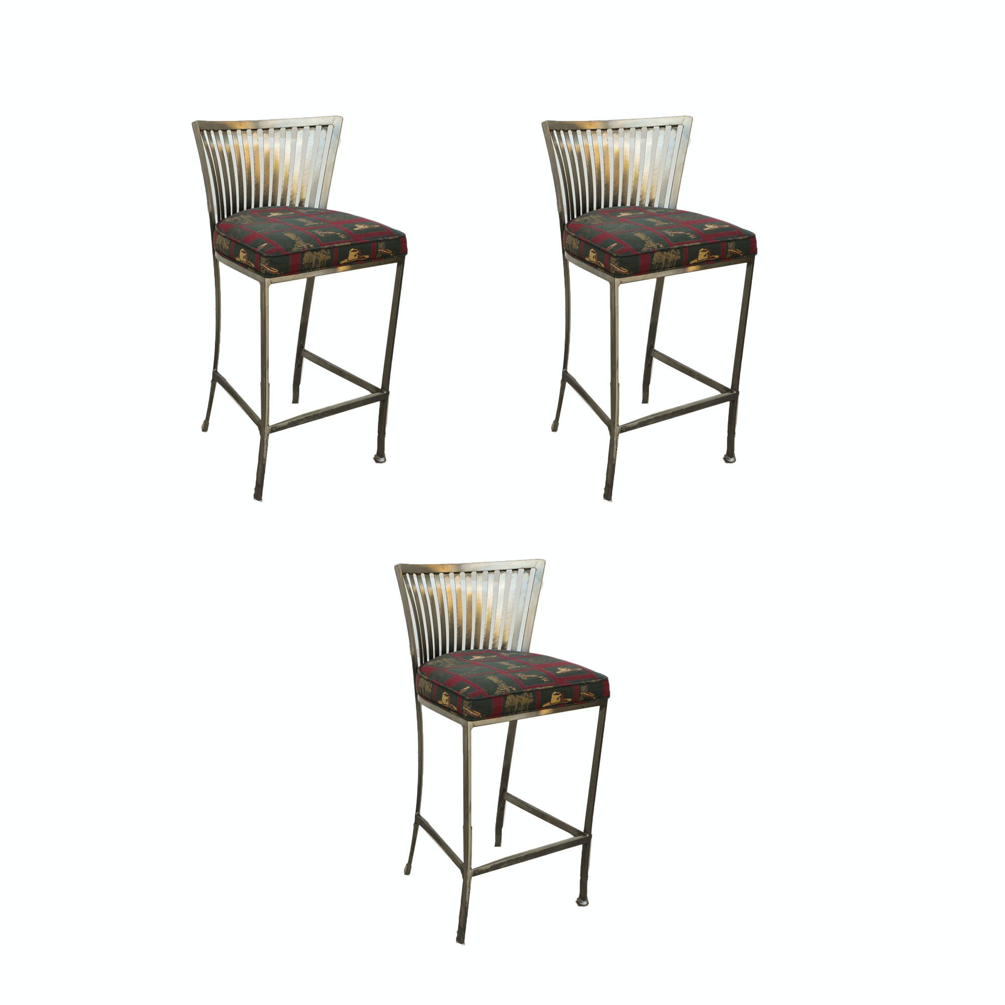 Mid Century Modern Style Barstools by Shaver-Howard, Inc.
