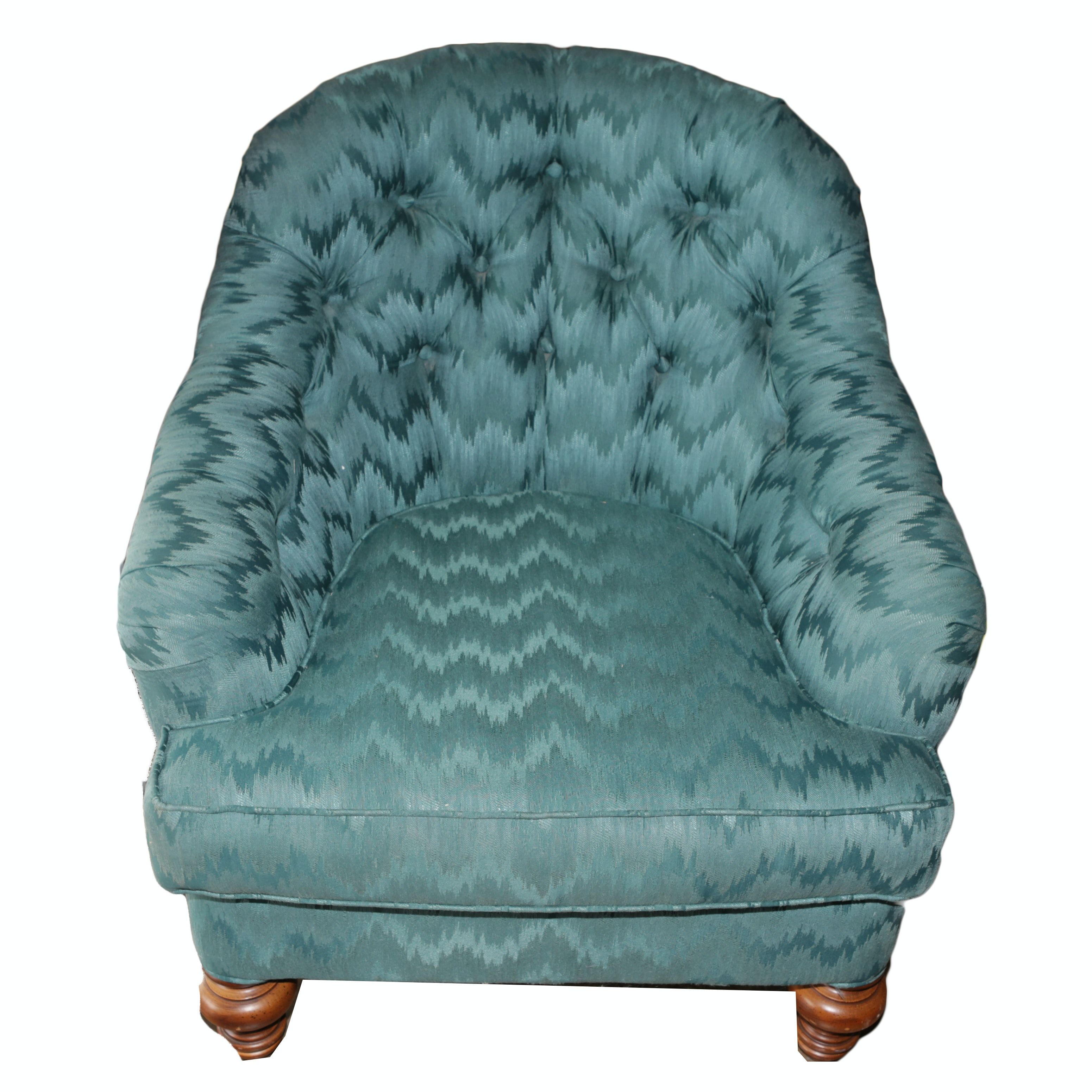 Button Tufted Club Chair