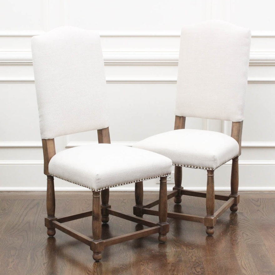 Alder & Tweed Furniture Upholstered Dining Chairs | EBTH
