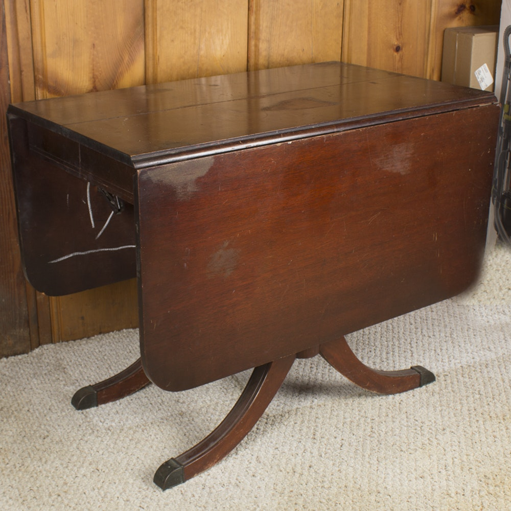 Federal Style Drop Leaf Table by The Lexington Chair Company